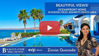 Million Dollar Beachfront Home In Mision Viejo, Rosarito Beach