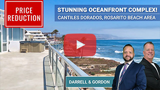 Oceanfront Condo Complex in Cantiles Dorados, Rosarito Beach