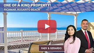 Unique Oceanfront Home in Ricamar, Rosarito Beach