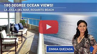 Oceanfront Condo in La Jolla Del Mar, Rosarito Beach