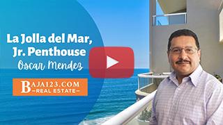 Ocean View Jr. Penthouse in La Jolla Del Mar, Rosarito Beach